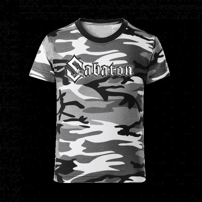 Sabaton Camo T-shirt Kids