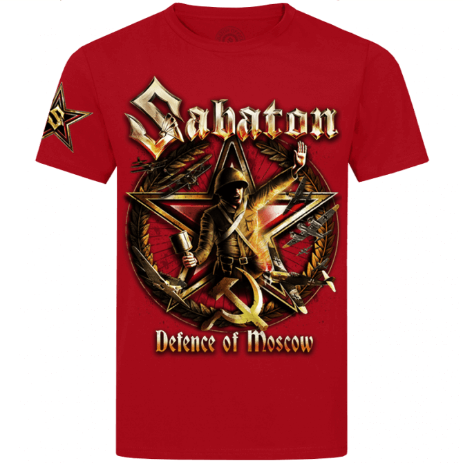 Defence of Moscow Red T-shirt (PRE-ORDER)