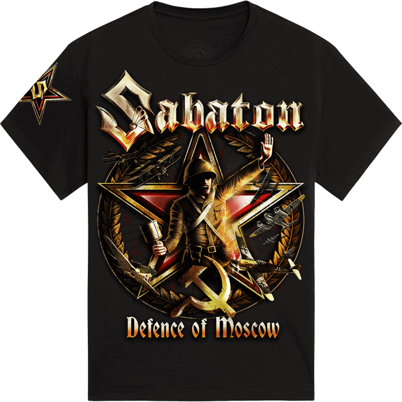 Defence of Moscow Sabaton T-shirt Frontside