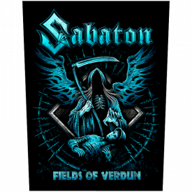 Fields Of Verdun Sabaton Back Patch