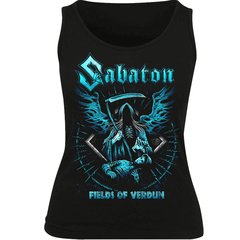 Fields Of Verdun Sabaton Tank Top Women Frontside