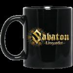 Livgardet Sabaton Black Mug Leftside