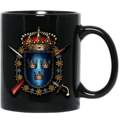 Livgardet Sabaton Black Mug Rightside