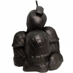 Metal Warriors Sabaton Candle Backside