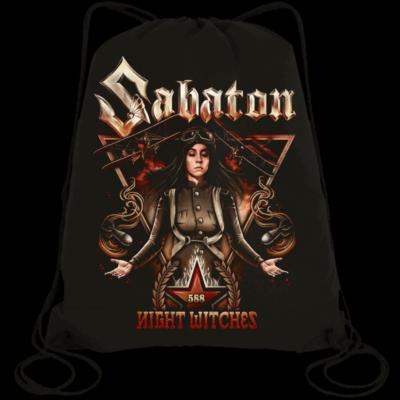 Night Witches Sabaton Drawstring Bag Frontside