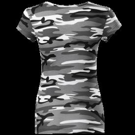 Sabaton Camo T-shirt Women Backside