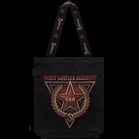 Sabaton Night Witches Tote Bag Backside