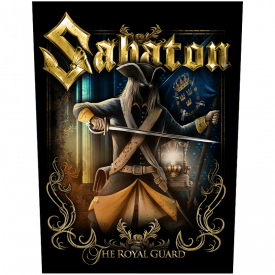 The Royal Guard Sabaton Back Patch