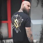 Royal Guard Sabaton T-shirt Backside Model
