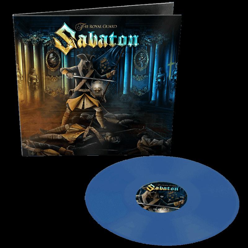 Sabaton The Royal Guard Blue Vinyl
