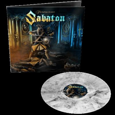 Sabaton The Royal Guard Clear Black Marbled Vinyl