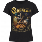The Royal Guard Sabaton T-shirt Women Frontside