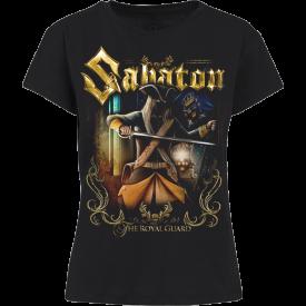 The Royal Guard Sabaton T-shirt Women Frontside