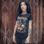 The Royal Guard Sabaton T-shirt Women Frontside Model