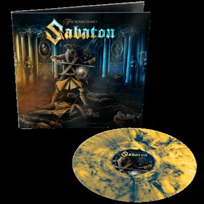 Sabaton The Royal Guard Yellow Blue Marbled Vinyl