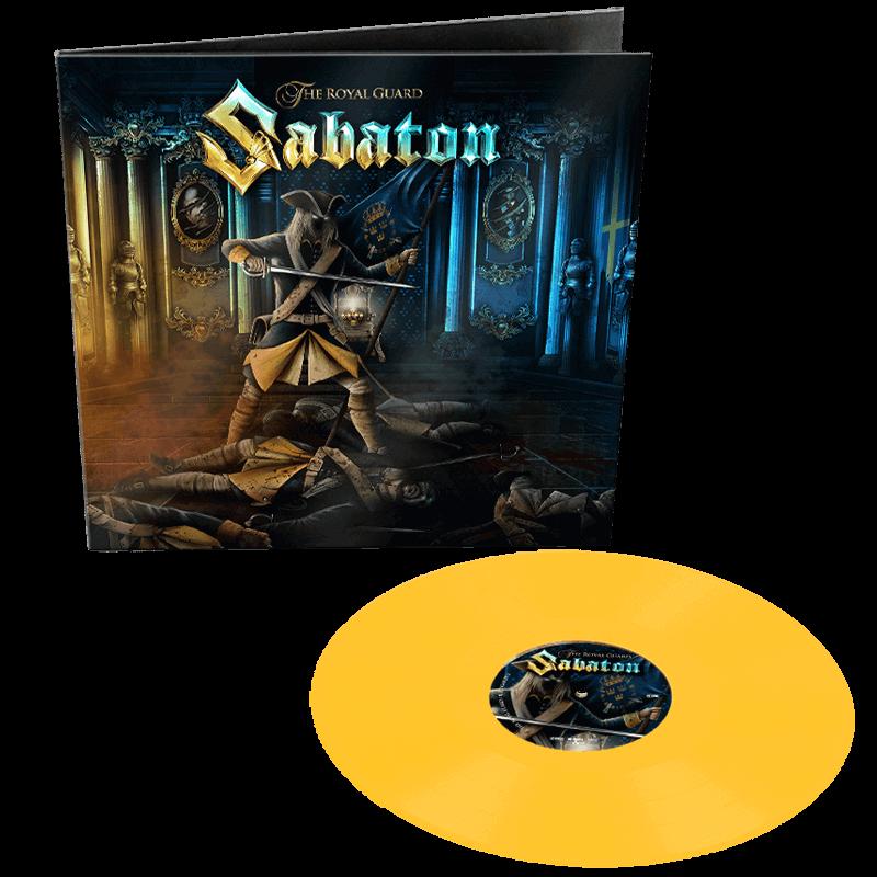Sabaton The Royal Guard Yellow Vinyl