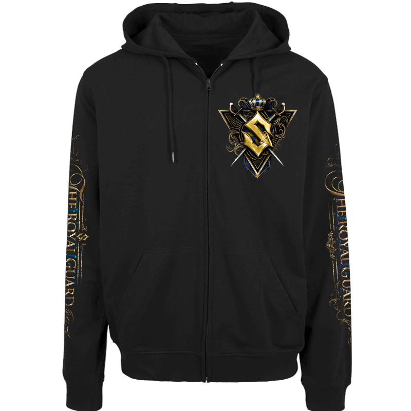 The Royal Guard Sabaton Zip Hoodie Frontside